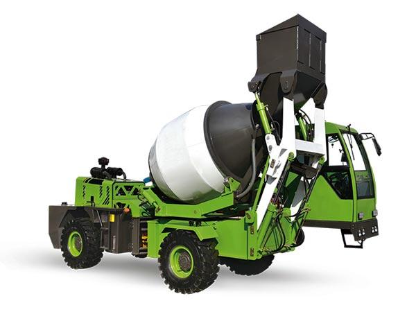1.8 cub self loading concrete mixer uk