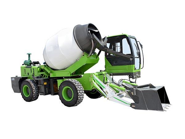 3.2 cub self loading cement mixer uk