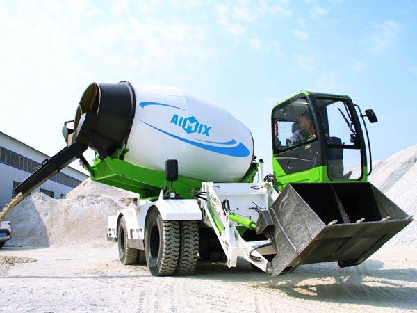 6.5 self loading concrete mixers uk