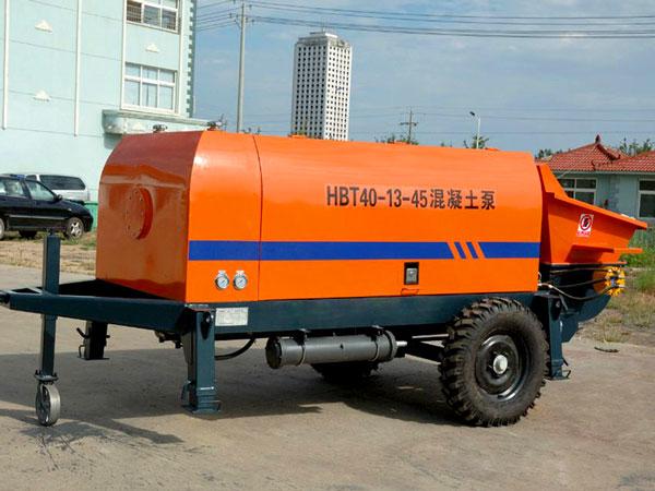 HBT40 electric portable concrete pump