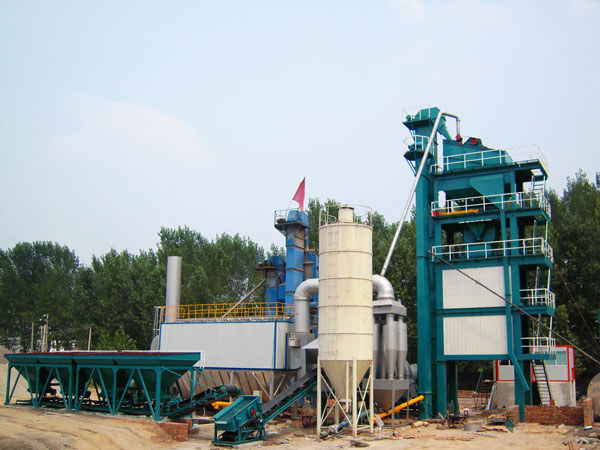 LB1500 batch asphalt mixing plant