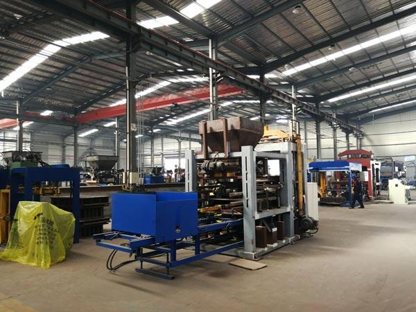 fly ash block machine supplier