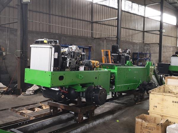 self loading mixer production