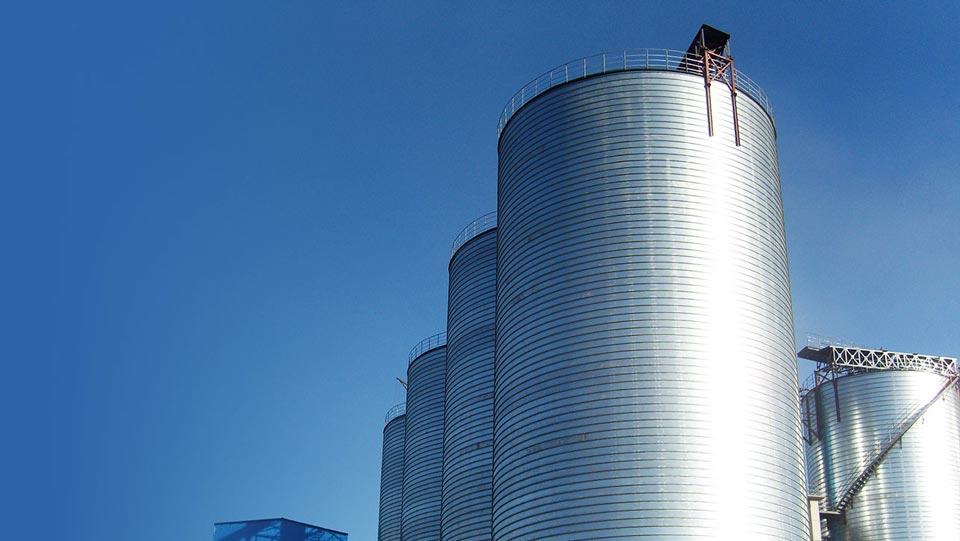 300t grain storage silo