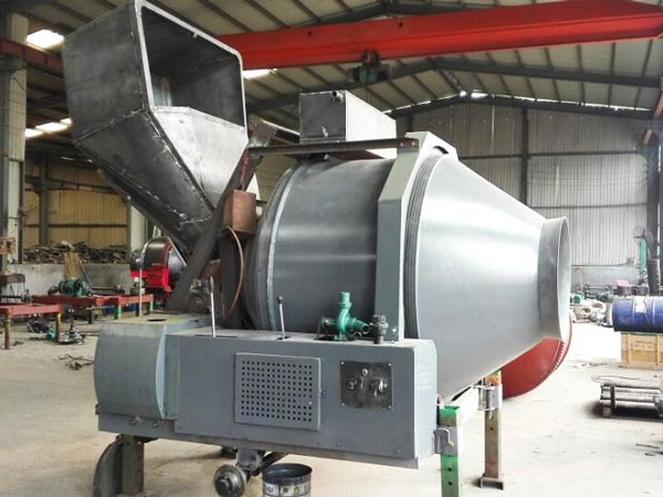 JZR350 diesel concrete mixer without painting