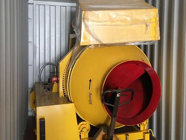JZR500 diesel cement mixer to Sierra Leone