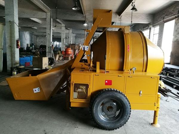 JZR500 diesel concrete mixer to Australia