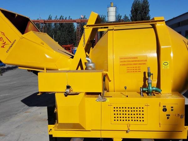 JZR500 diesel concrete mixers to Sierra Leone