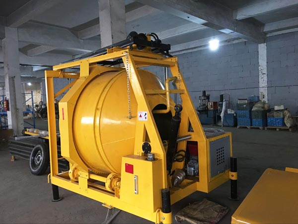 JZR500 diesel mixer to Australia