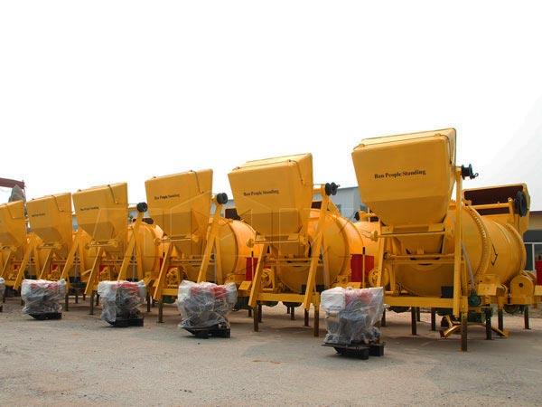 diesel concrete mixer manufacturer