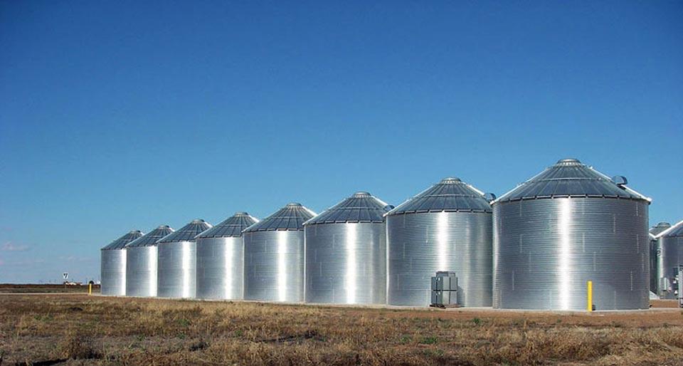 grain silo sale
