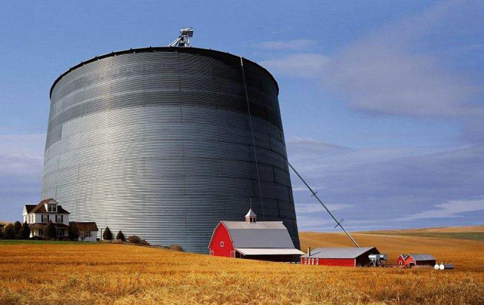 silo grain