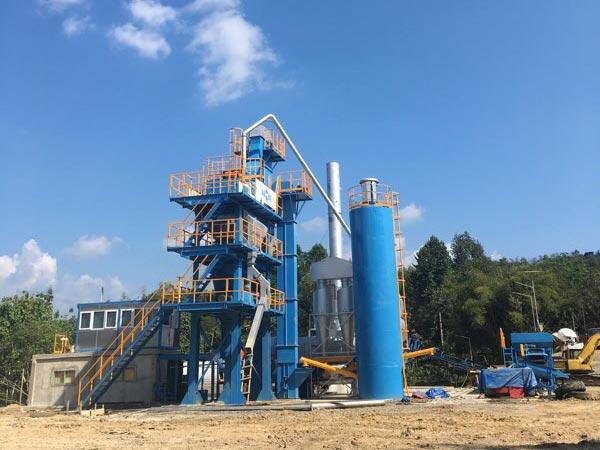 80 ton asphalt mixing plant