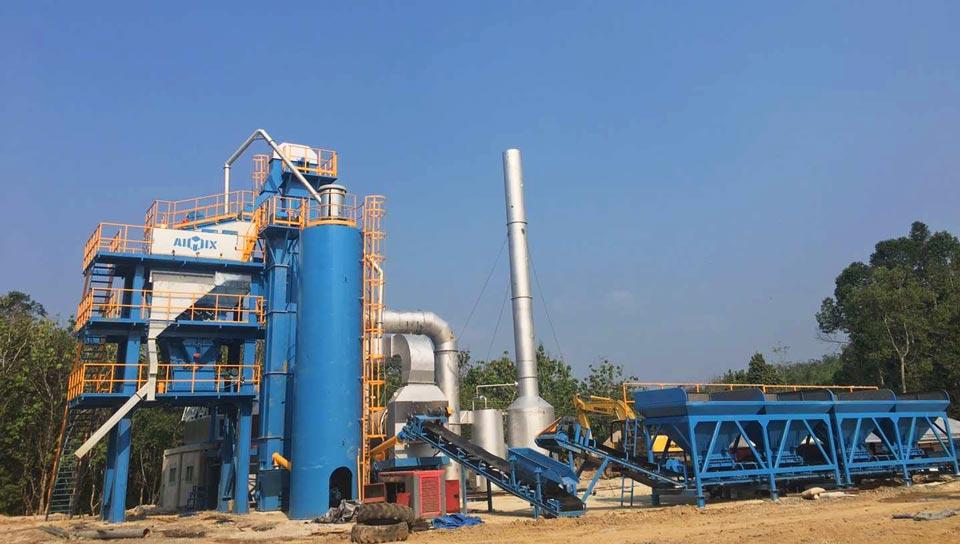 80t asphalt mixing plant di Indonesia