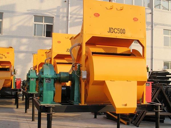 JDC500 horizontal shaft mixer