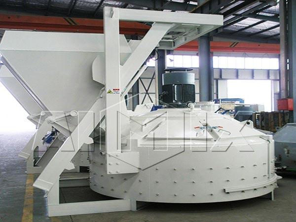 JN1500 planetary concrete mixer