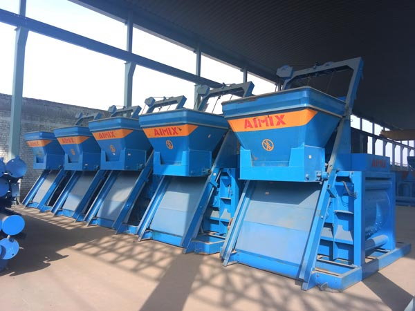 JS twin shaft concrete mixers