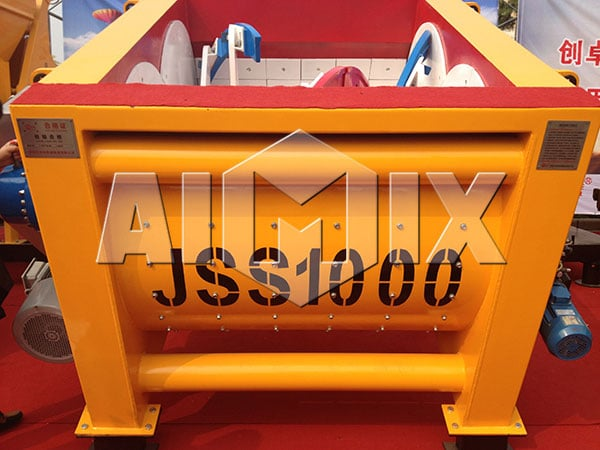 JSS1000 double spiral shaft mixer