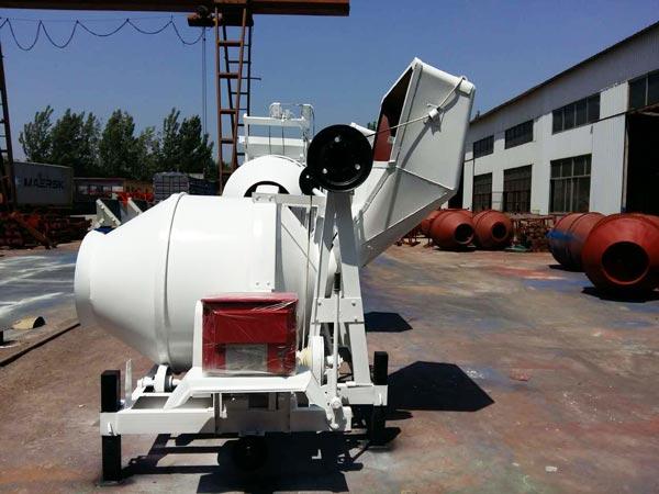 JZC350 concrete mixer Uzbekistan