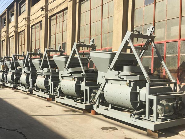 stationary concrete mixer factory