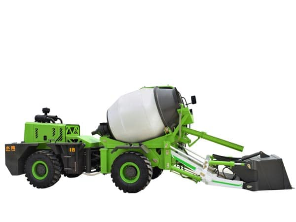 1.2cub mobile concrete mixer