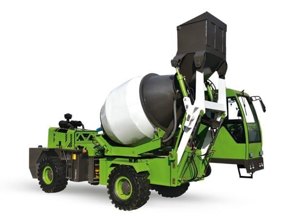 1.8cub mobile concrete mixer machine