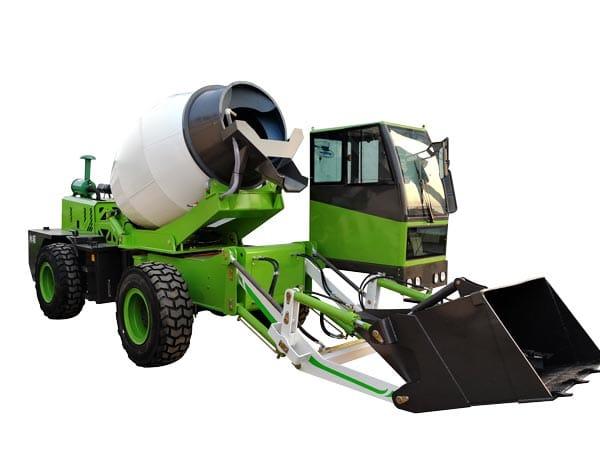 2.6cub mobile cement mixer