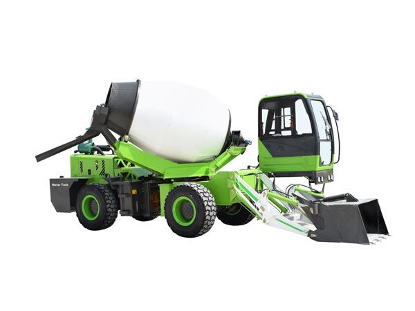 3.2cub mobile concrete mixer