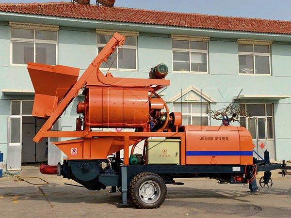 ABJS40C-JS750 compulsory concrete mixing pump