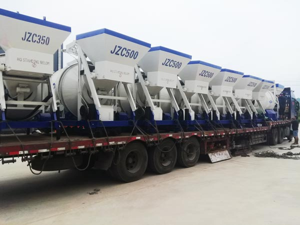 JZC mobile concrete mixer