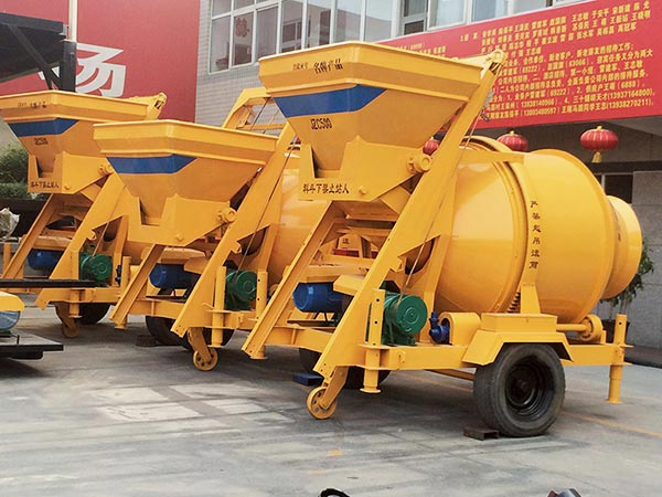 JZC500 mobile concrete mixer