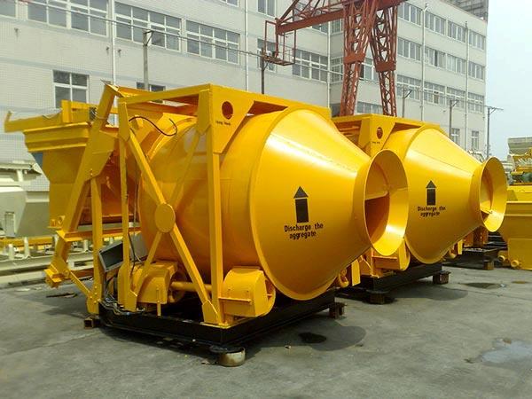 JZM750 mobile concrete mixer