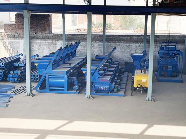 concrete mixer factory