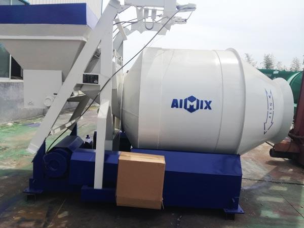 mobile concrete mixer Uzbekistan