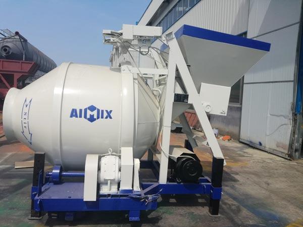 mobile mixer machine