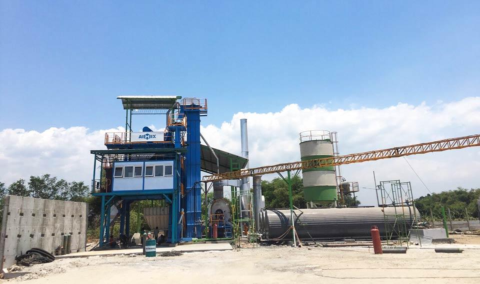 120tph asphalt plant