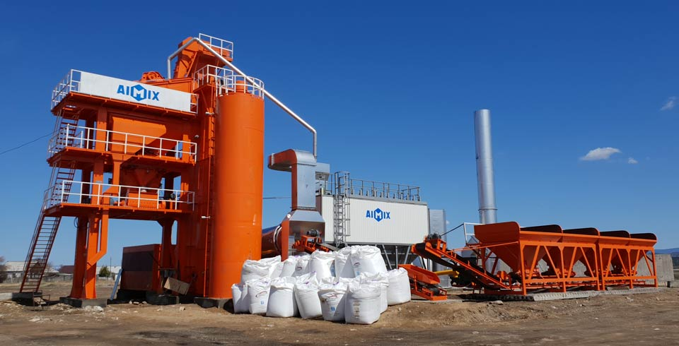 80tph asphalt mixing plant stationary
