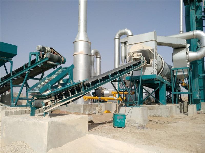 ALQ120 asphalt plant