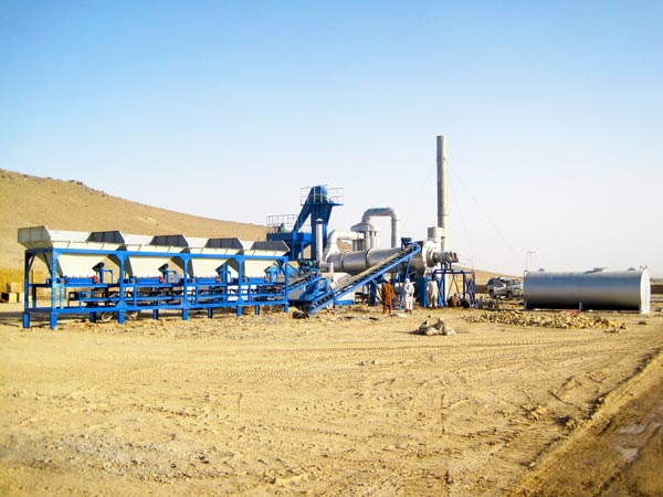 ALT40 drum mix asphalt plant