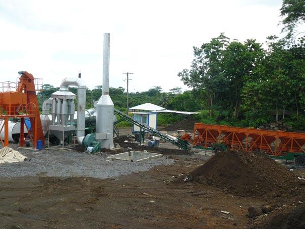ALT60 asphalt drum plant Samoa