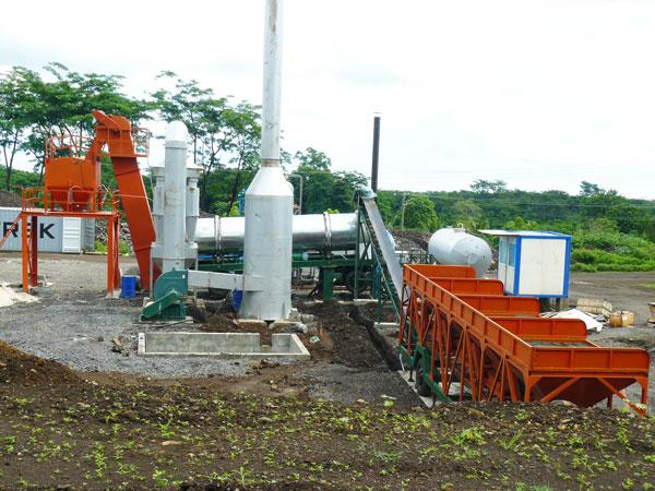 ALT60 drum asphalt plant