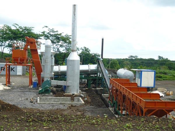 ALT60 drum asphalt plant Samoa
