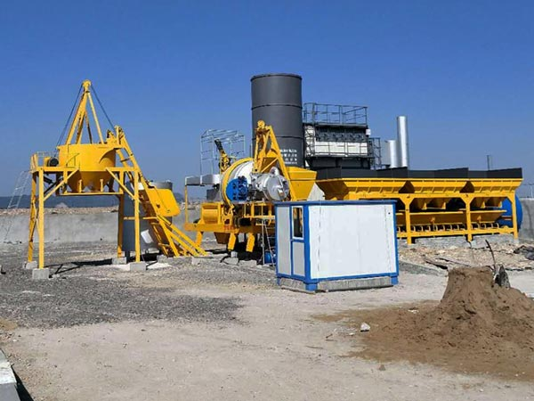 ALYJ-10 mobile drum mix plant