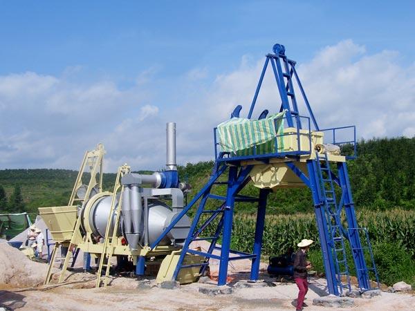 ALYJ-20 asphalt drum plant mobile