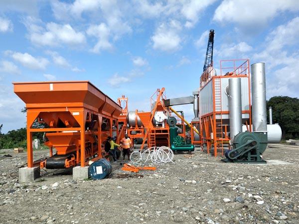 ALYJ-60 mobile asphalt drum plant