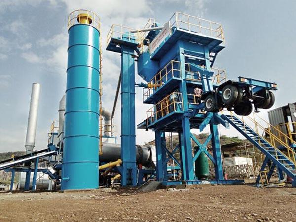 ALYQ100 mobile asphalt plant