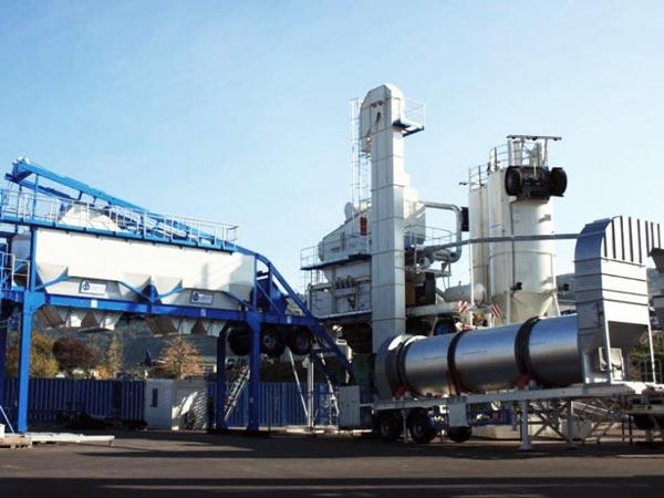 ALYQ60 mobile asphalt plant