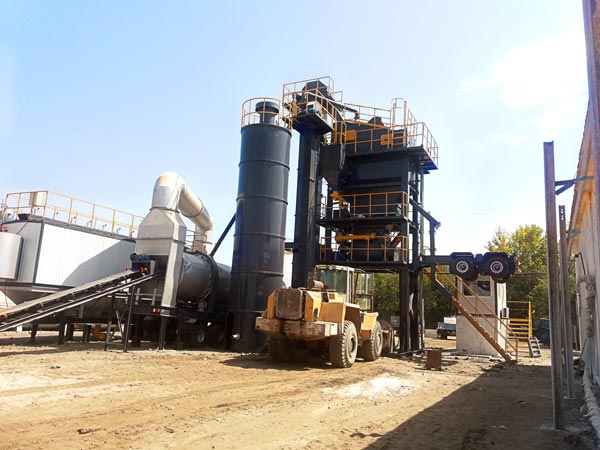 ALYQ80 asphalt batch plant mobile