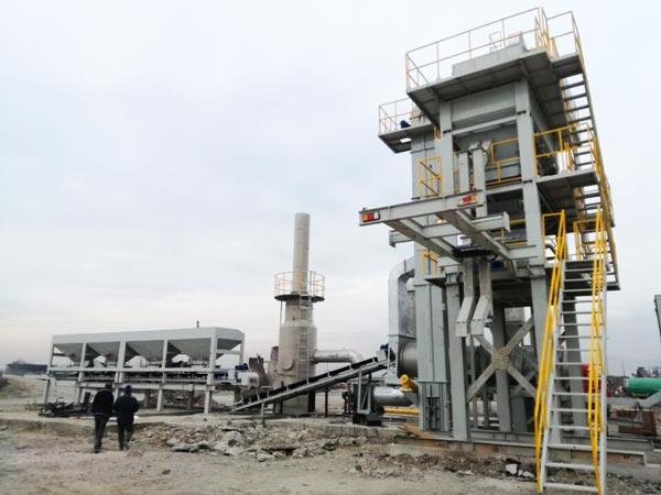 ALYQ80 mobile asphalt batching plant
