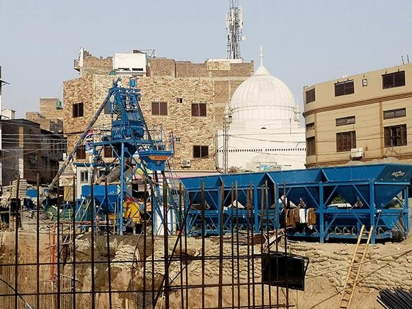 AJ-25 concrete plant Pakistan
